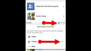 Download how to hide friends list on facebook on mobile 2017 Video