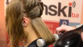 Download Savjeti i njega za kosu: Postizanje volumena feniranjem, moderna muška frizura (Tuzlanski.ba) Video
