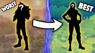10 Tryhard Skin Backbling Combos In Fortnite Tryhard Cosmetic - ranking every legendary skin from worst to best my opinion fortnite battle royale