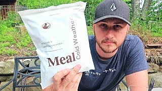 Download Testing US Cold Weather MRE (Meal Ready to Eat) Video