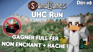 Download Défi #8 : Gagner FULL FER NON ENCHANT (+HACHE) ! | UHC Run - SamaGames Video