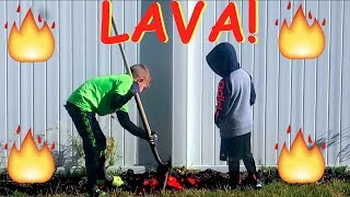 Download 🌋KIDS FIND REAL LAVA IN BACKYARD!🔥 Video