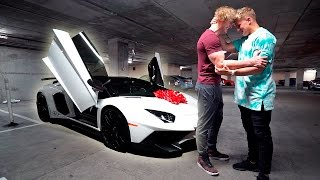 Download I BOUGHT MY BROTHER HIS DREAM CAR **LAMBORGHINI AVENTADOR** (emotional) Video