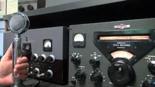 Download Heathkit DX60 Transmitter Ham Radio AM Net Check-In Vintage Gear on 80 meters Video