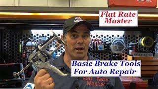 Download Basic Brake Tools For Auto Repair Video