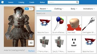 Download Making PennyWise The Clown A Roblox Account! Video