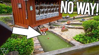 Download WE HAVE NEVER WON THIS AT A MINI GOLF COURSE BEFORE! - DOUBLE MINI GOLF HOLE IN ONE! Video
