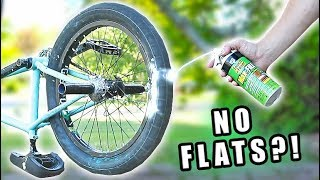 Download Filling a Bicycle Tire with EXPANDING FOAM! Video