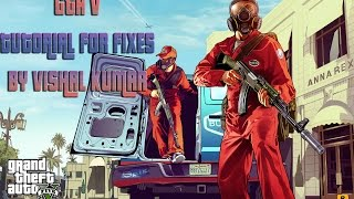 Download How to Fix GTA V Launcher to run PlayGTAV.exe Problem and Updated Patch v4  Vishal Kumar Video