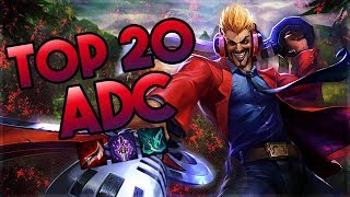 Download Top 20 ADC Plays #03 | League of Legends Video