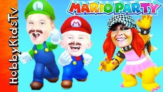 Download HobbyMom Plays Bower in thisMario Party Video Game Video