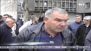 Download Protest u Tuzli Incident između radnika i sindikata Video