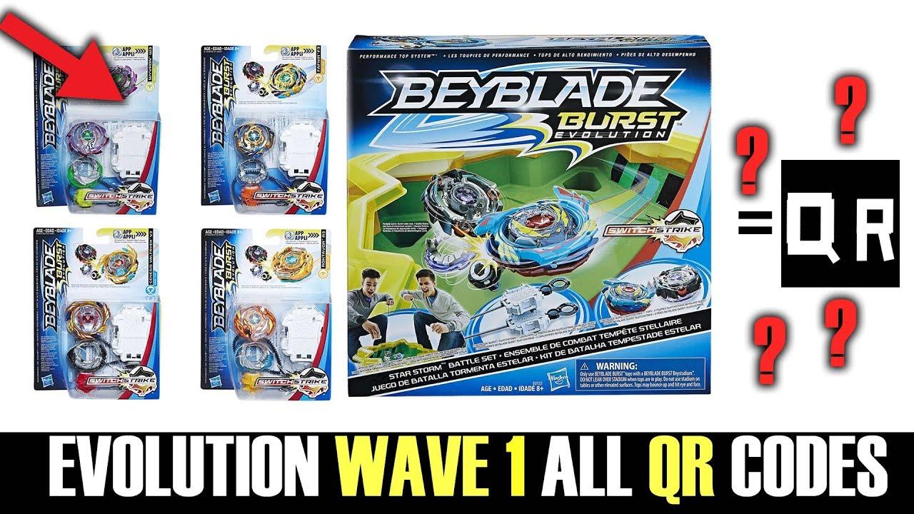 V3 Beyblade Burst Qr Codes