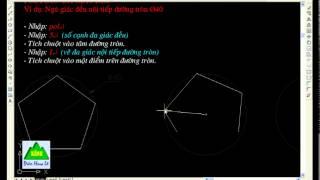 Download Cách vẽ đa giác đều trong AutoCAD - Lệnh Polygone Video