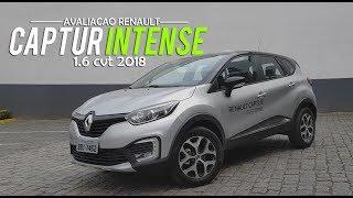 Download Avaliação | Novo Renault Captur Intense 1.6 CVT 2018 | Curiosidade Automotiva® Video