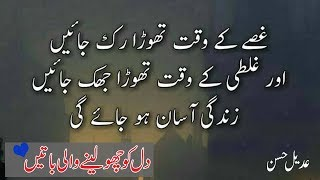 Download Most Heart Touching Collection of Precious Words|Urdu Life changing Quotes|Adeel Hassan|Quotes| Video