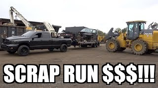 Download WE MADE BIG TIME $$$$ BY SCRAPPING THIS CUMMINS DODGE RAM TRUCK!!! Video