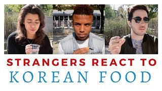 Download [ENG SUB] French people try Korean food Video