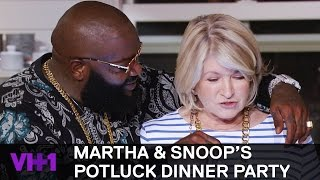 Download Rick Ross & Ashley Graham Stop by for Lobster 'Sneak Peek' | Martha & Snoop's Potluck Dinner Party Video