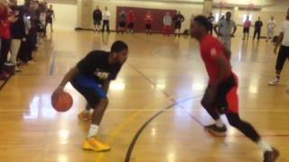 Download Best of Kyrie Irving playing 1 on 1 vs Fans! - Crazy Handles! Video