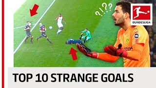 Download Strange Goals 2017/18 - Face Smash, Free-Kick Naughtiness and a Thirsty Goalkeeper Video