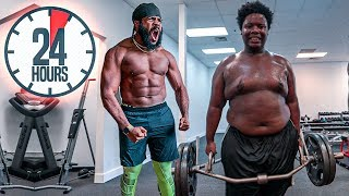 Download Spending 24 Hours Straight In A Gym For $10,000!!! Worlds Toughest Challenge!!! Video