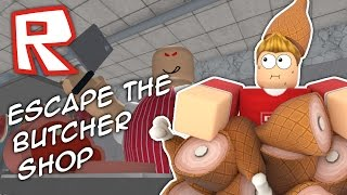 Download ESCAPE THE CRAZY BUTCHER SHOP!! Roblox Obby Video