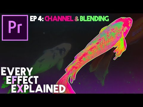 Every Effect in Adobe Premiere Pro Explained - Ep 4 (Channel & Blending Modes)