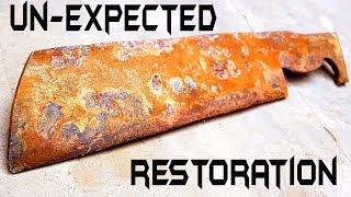 Download Antique Handmade MEAT CHOPPER | RESTORATION Video