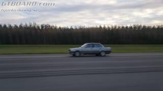 Download BMW M6 Coupe with Ram Air, ECU and exhaust vs BMW 325iX E30 Turbo Sedan by Nisse Järnet Video