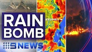 Download Major rain event hits Australia's bushfire zones | Nine News Australia Video