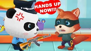 Download Little Panda Policeman - Fun Baby Panda Learn Safety Tips With Police Officer Educational Kids Game Video