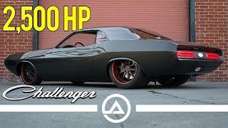 Download Bagged 2500 hp 1970 Dodge Challenger named Havoc Video