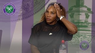 Download Serena Williams Wimbledon 2019 Second Round Press Conference Video