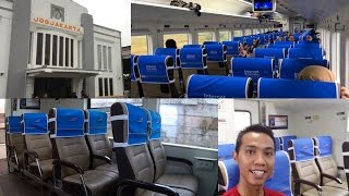 Download Trip by Train - Perdana Naik Kereta Api Fajar Utama Yogyakarta Ekonomi Terbaru 2016 Video