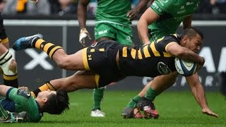 Download Kurtley Beale MOTM Debut Performance for Wasps VS Connacht Video