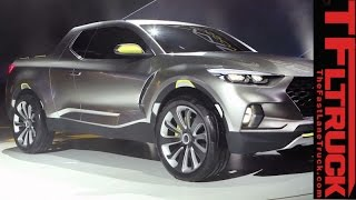 Download Surprise, a Hyundai pickup: Watch Hyundai Santa Cruz Concept truck Revealed Video