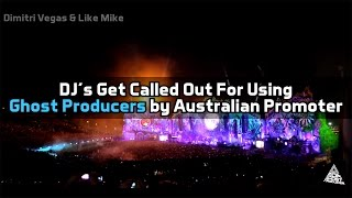 Download DJ's Get Called Out For Using Ghost Producers By Australian Promoter Video