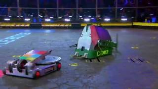 Download Chomp vs. Disk O' Inferno - FULL BATTLE - BattleBots Video