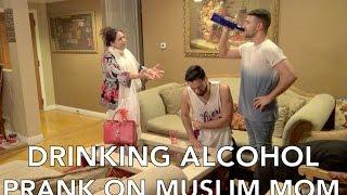 Download DRINKING ALCOHOL PRANK ON MUSLIM MOM Video
