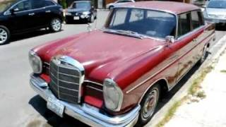 Download My old Mercedes Benz 220s 1963 Video