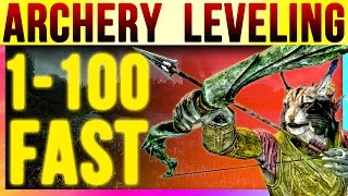 Download Skyrim Special Edition 100 Archery FAST At LEVEL 1 (Fastest Bow Skill Starter Guide Remastered) Video