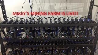 Download Ethereum Mining Farm Live - Part 3 Running Video