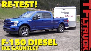 Download Re-Test: 2018 Ford F150 Diesel takes on the World's Toughest Towing Test AFTER DNF Video
