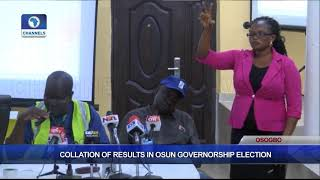 Download Collation Of Results In Osun Governorship Election Pt.6 |Osun Decides| Video
