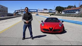 Download Alfa Romeo 4C Spider 2016 - Prueba A Bordo [Full] Video