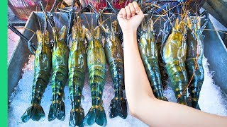 Download RECORD BREAKING THAI PRAWNS!!! The ULTIMATE Thai Seafood Experience in Bangkok, Thailand! Video