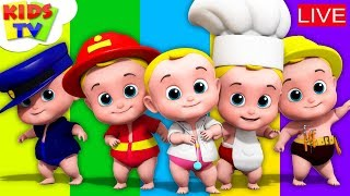 Download ABC Song For Kids   Nursery Rhymes and Kids Songs Live Video