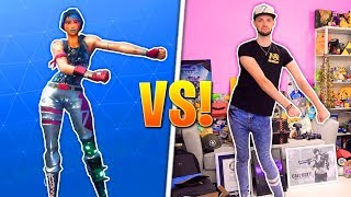 Download Fortnite DANCES - REAL LIFE CHALLENGE! Video