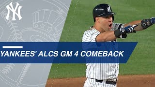 Download Watch the Yankees take a lead in the 8th inning of Game 4 of the ALCS Video